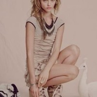 IRO Ruffled In Rows Dress at Free People Clothing Boutique