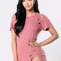 High Roller Tunic - Marsala