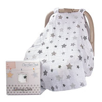 Ideal Baby Car Seat Cover, Infant Canopy Covers for any Girls or Boys Carseat