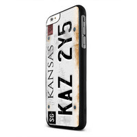 Iphone Case Custom 7 License plate Supernatural TM00 Iphone 4/4s, Iphone 5/5c/5s, Iphone 6/6+