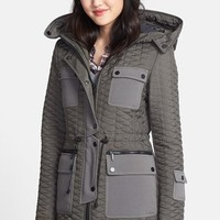 Women's AB Hooded Quilted Parka,