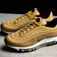 Nike Air Max 97 3M Gold bullet Men Sneaker 884421