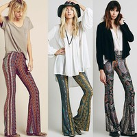 *online exclusive* print bell bottom pant (3 prints)