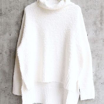 MINKPINK Women's The One Boxy Knit Jumper - Cream