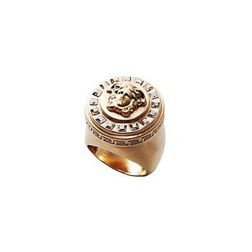 Versace - Icon Glossy Crystal Ring