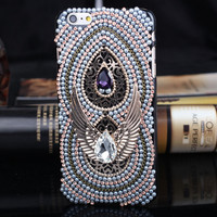 100% Handmade iPhone 5S 6 6S Plus Case High Quality Solid Cover + Nice Gift Box 453