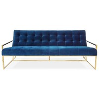 Jonathan Adler Goldfinger Two-Seat Sofa | New Furniture | What's New! | Candelabra, Inc.