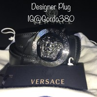 NWT Authentic Versace Classic Medusa Belt ($450)