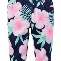Printed French Terry Pants