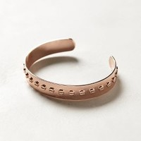 Rosegold Machinist Cuff by Anthropologie Pink One Size Jewelry