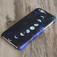 Moon Phases Nebula iPhone 6 Case,iPhone 6 Plus Case,iPhone 5s Case,iPhone 5C Case,4/4s Case,Samsung Galaxy S5/S4/S3/Note 3/Note 2 Case