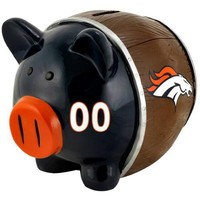 Denver Broncos NFL Team Thematic Piggy Bank (Small)