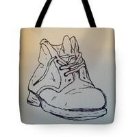 Old Shoe Tote Bag