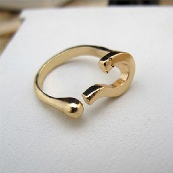 Shiny New Arrival Stylish Gift Jewelry Accessory Hot Sale Metal Ring [6586390343]