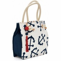 Anchors Away Starboard Large Tote Totes