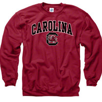 South Carolina Gamecocks Cardinal Perennial II Crewneck Sweatshirt