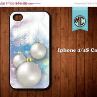 20% OFF Christmas decoration iPhone Case - Plastic or Silicone Rubber iPhone 4 4S Case Cover - MC099