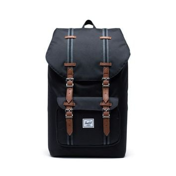 Herschel Supply Co. Little America Black Tan Backpack