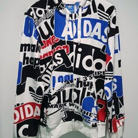 adidas Originals Boyfriend Zip Up Hoodie Jacket