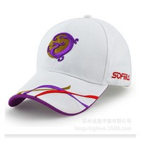 China dragon style caps Curved Brim trucker hats 2017 golf sport baseball caps biker Cotoon dad hats for women men
