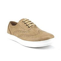 Scans Men's 63305 Classic Wing Tip Lace up Sneakers