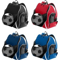 Personalized Soccer Equipment Backpack Bag 4 Tri Colors