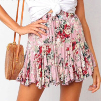 FABULOUS IN FLORAL SKIRT