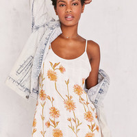 Kimchi Blue Cambridge Floral Dobby Slip Dress | Urban Outfitters