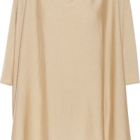 Back Label - Jaipur cashmere and silk-blend poncho