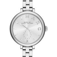 Marc by Marc Jacobs Womens Silver SS Watch