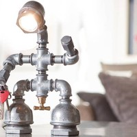 Kozo Man Desk Lamp – A Whimsical Addition To Your Space