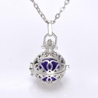Essential Oils Diffuser Harmony Ball Style Necklace