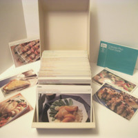 BETTER HOMES And GARDENS Diet Recipe Card Library, 1987