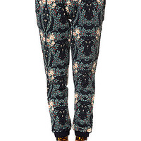 The Division Sweatpants in Navy Cherry Blossom
