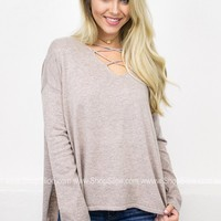 Laura Strap Pullover Sweater