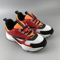 Dior Men Fashion Print Sport Sneakers Shoes