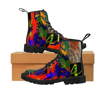 Jungle Jam Women's Canvas Boots