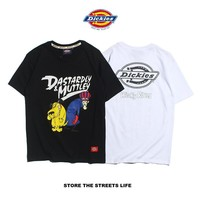 Couple Round-neck Casual T-shirts [1276629745700]