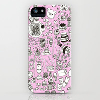 Kawaii Dinner iPhone & iPod Case by moontrade