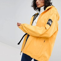 The North Face Mountain Quest Jacket In Yellow at asos.com