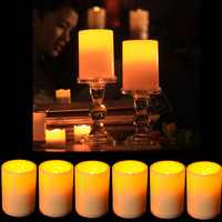 Battery Powered Flameless LED Candle Flickering Tea Light Christmas Wedding Home Decor