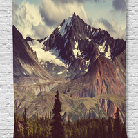 Sale On  Ambesonne Alaska Mountains Decor Collection, Arctic Landscape Wilderness and Hiking Mountain in USA Picture, Bedroom Living Kids Girls Boys Room Dorm Accessories Wall Hanging Tapestry, Green Blue