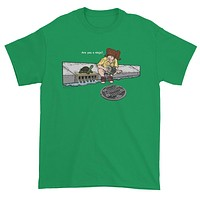 April in New York TMNT Are You a Ninja? Sewer Turtle Men's Short Sleeve T-shirt