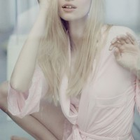 Wildfox Couture Best Friends Lace Robe in Blushing Bride