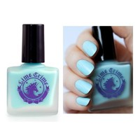 (3 Pack) LIME CRIME Nail Polish - Once In A Blue Mousse