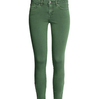 Stretch Ankle-length Pants - from H&M