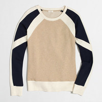 FACTORY COLORBLOCK SWEATSHIRT