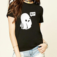 Ghost Boo Halloween T shirt