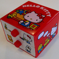 Hello Kitty Jewelry Drawers by TheElegantArtist on Etsy
