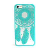 Fashion Carved Damask Vintage Dream Catcher Campanula Hard Case For iPhone 5 5s Anti-scratch Protective Back Cover Top Quality